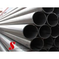 Quality Galvanized Welded Steel Tube 10.2 - 2540mm Outer Diameter For Fluid for sale
