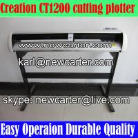 China Creation Cutting Plotter CT1200 Vinyl Cutter Plotter W Stand Pcut 1200 Vinyl Sign Cutter on sale
