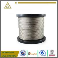 China 1x7 1mm high carbon steel wire cable steel strand steel wire rope steel wire on sale