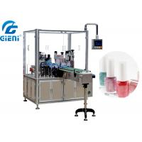 Quality Automatic Liquid Nail Polish Making Machine PLC and Touch Screen Control for sale