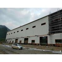 Quality Anti - Rusty Paint S355 Workshop Steel Structure 5000㎡ With Windows And Doors for sale