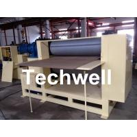 Quality Roll Embossing Machine For Decorative MDF / HDF Panels 3.8 Ton for sale