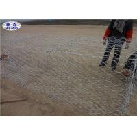 China Galvanized PVC Coated Gabion Baskets For River Protection Wall OEM Service on sale