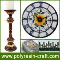 China Polyresin Craft-Polyresin Clock on sale