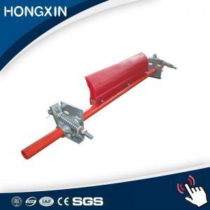 China Coal mining adjustable primary polyurethane rubber belt cleaner for conveyor pulley belt on sale