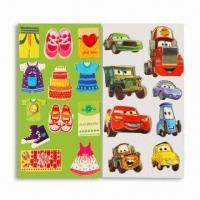 Quality Double-foam Cotton Stickers, Suitable for Children Between 3 to 10yrs Old for sale