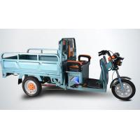 Quality Open Body Powerful Electric Tricycles / Three Wheel Electric Trike For Cargo for sale