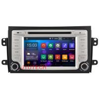 Quality Android 4.4 Two Din Car dvd player SAT NAV For SUZUKI SX4 2006-2012 car gps BT multimeder for sale