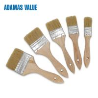 Quality No Falling Off Natural Bristle Paint Brush Strong And Durable Performance for sale