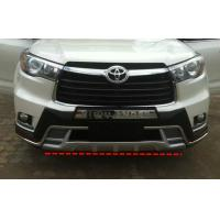 Quality Front And Rear Car Bumper Guard For TOYOTA HIGHLANDER 2014 2015 KLUGER for sale