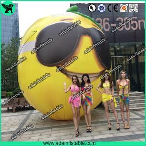 Quality Fruits Festival Event Inflatable Model Giant Inflatable Lemon Model/Sunglasses Advertising for sale