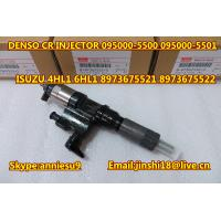 Quality Denso Genuine & New Common Rail Injector 095000-5500 095000-5501 for ISUZU 4HL1 6HL1 89736 for sale
