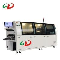 Quality Automatic SMT online lead free dual DIP wave soldering machine for PCB 350 for sale
