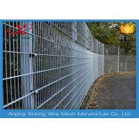 China Various Colors Double Loop Ornamental Wire Fencing For Military Base on sale