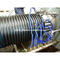 Quality PP Spiral Corrugated Pipe Extrusion Line HDPE Pipe Extruder 200mm-1200mm for sale