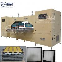 Quality Double Heads Auto High Frequency Welding Machine for PVC, PP, Non Woven Air Filter Bags for sale