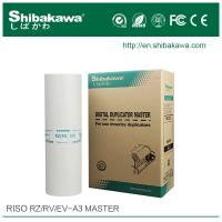 China Z-type master roll A3 for riso digital stencil duplicator machine on sale