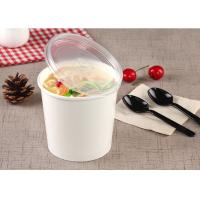 Quality Hot Take Out Soup Containers Full Colour Printing With PE Lamination for sale