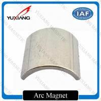 China Sintered 38SH Nickel Coated Neodymium Super Magnets Precise Tolerance For Motor on sale