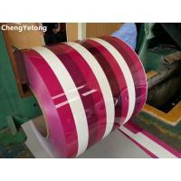 Buy Household Appliance Cold Rolled Stainless Steel Coil With SMP Coating Pattern Printed at wholesale prices