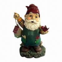 Quality Poly Garden Gnomes/Angles in Various Colors, Suitable for Special Decorations for sale