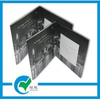 Quality Musical Recording Greeting Card Stock Paper Lighting Printing For Holiday Invitation for sale