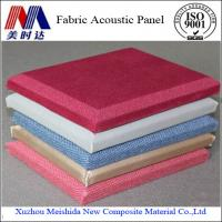 China Fireproof Soundproof Fabric Acoustic Wall Panel on sale