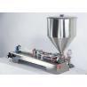 Buy cheap Adjustable Semi Automatic Filling Machine , Glass Milk Bottle Filling Machine from wholesalers