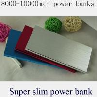 Buy cheap Power bank 8000mah ultra power charger gift power bank hot selling in Parbeson from wholesalers
