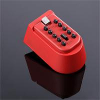 Outdoor Combination Push Button Key Lock Box Rubber Waterproof Cover