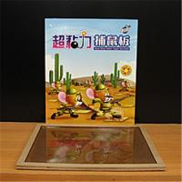 Quality Super sticky glue board wood mouse trap for sale
