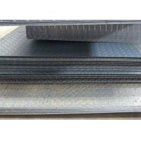 Quality 2mm-25mm Thcikness Checker Plate Metal Sheet , Cold Drawn Black Checker Plate for sale