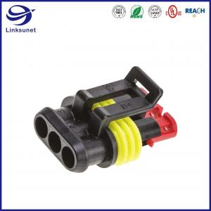 Quality Superseal 1.5 1 Row 6.0mm Latch Lock TE Connectivity AMP Connectors for Car for sale