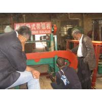 China Popular In Tropical Rainforest !!! Diesel Engine Portable Band Sawing Machine wholesale