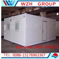 Quality modular container homes and steel frame house for sale