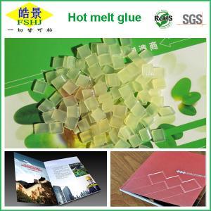 Hotmelt Adhesive Binding Glue For Books , Paper Binding Glue High Adhesive Strength