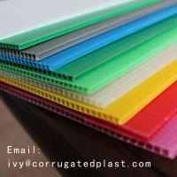 China China 4x8 2mm 3mm 4mm 5mm 6mm PP Strong and Durable corrugated plastic sheet manufacturer on sale