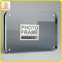 Quality customize 8 inches transparent acrylic photo frame acrylic picture frame with magnets for sale