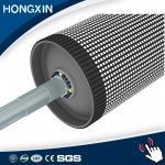 Da polia carbonosa do transporte da espessura da boa qualidade 15mm retardamento de borracha cerâmico