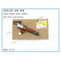 Quality Caterpillar Genuine Fuel Injector 32E61-00020 32E61-00022 for Caterpillar 315D 326-4740, HYUNDAI XJAF-02533 for sale