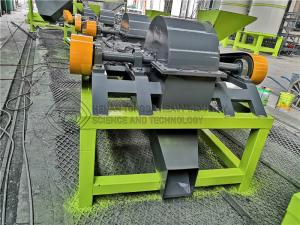 Quality Manufacturer direct high-speed double roller cage crusher machine chicken dung crusher for sale