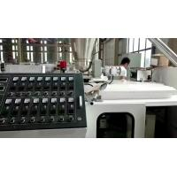Quality WPC Board Pp Sheet Extrusion Line Simple Formulation Waterproof for sale