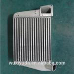 воздушный охладитель обязанности интеркоолер паял охладитель автомобиля теплообменного аппарата ребра плиты теплообменного аппарата бара плиты