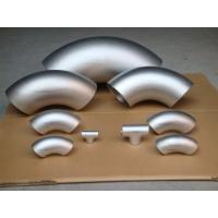 China ASTM A815 WPS31803 Duplex Steel Pipe Fittings , S31803 Seamless Butt Weld Pipe Fittings on sale