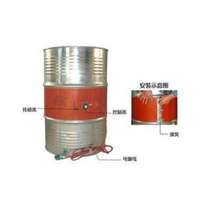 China 30 Gallon 230V / 115V 750W Flexible Silicone Drum Heater on sale