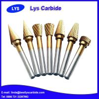Quality Hard alloy tungsten carbide rotary burrs for sale