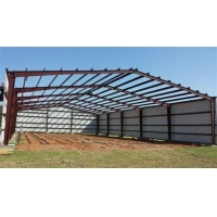 Buy cheap C / Z Section Sandwich Panel Prefabricated Steel Frame Q355B Q235B from wholesalers