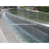 China Landscape Outdoor Fountains And Waterfalls Commercial Water Fountains With LED Strip on sale