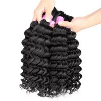 Quality Braiding Hair 100% Human Hair Raw Unprocessed Mongolian Kinky Curly Hair Weave for sale