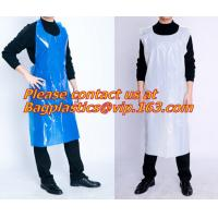 Plastic White Embossed Disposable Pe Aprons/plastic apron/disposable apron,Spa and Beauty Items PROTECTIVE PRODUCTS PAC